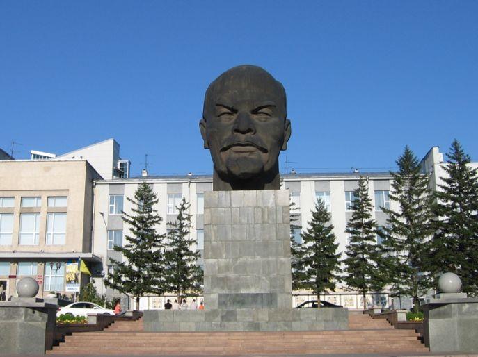 Иногда Ильич устанавливался в полный рост, но порой довольствовались только головой. Ленин, искусство, история, памятник, современное искусство, ссср