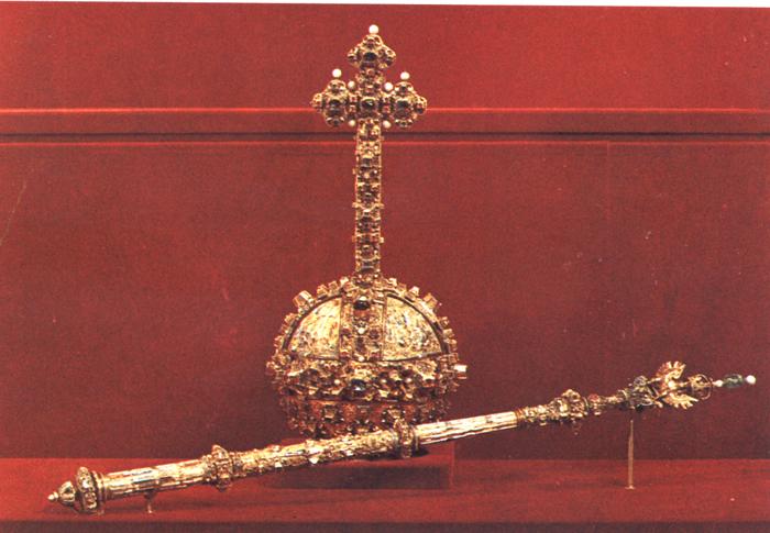5 главных атрибутов царской власти на Руси государство, держава, печать, скипетр, трон, царь, шапка