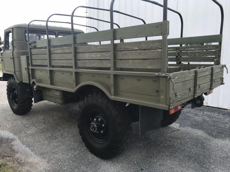 В США на продажу выставлен редкий экземпляр советского грузовика