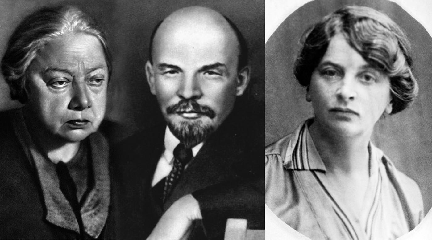 Ленин и крупская картинки
