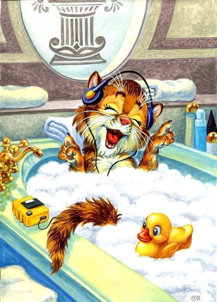 Российский художник запустил котиков в любимые кинофильмы забавно, кино, коты, рисунок, фильм, художник