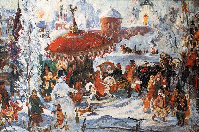 Как праздновали Рождество на Руси