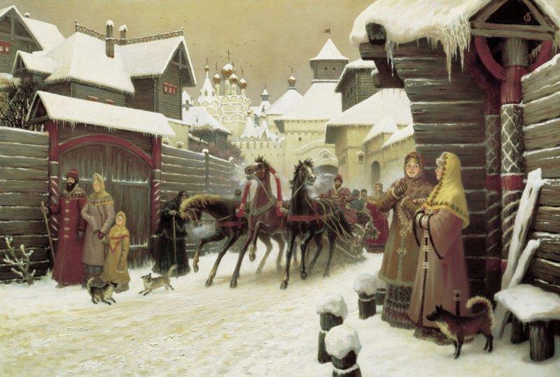 Ледостав в июне и студеная зима: погодные аномалии в русской истории  зима, капризы, лето, погода, природа, термометр