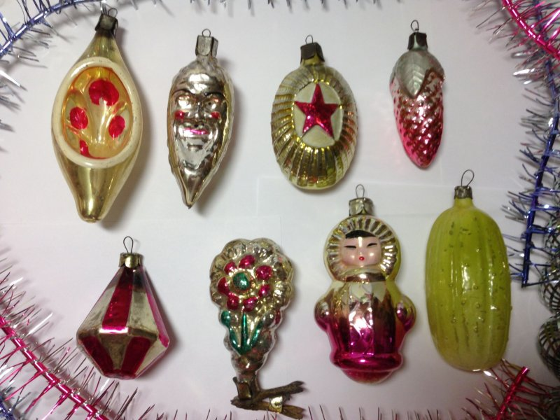 Мало у кого из советских детей не было таких вот оригинальных фигурок елочные игрушки, новый год, ностальгия, ссср, стеклянные шары