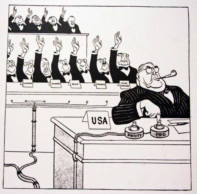 Голосование в ООН?