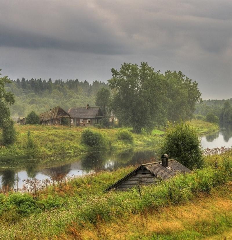 Приближается гроза деревня, детство, жизнь, ностальгия, период, русская деревня
