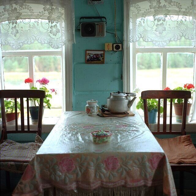 Готовимся к завтраку деревня, детство, жизнь, ностальгия, период, русская деревня