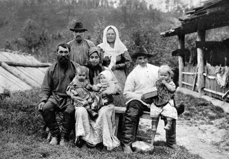 Старообрядцы, 1910 год