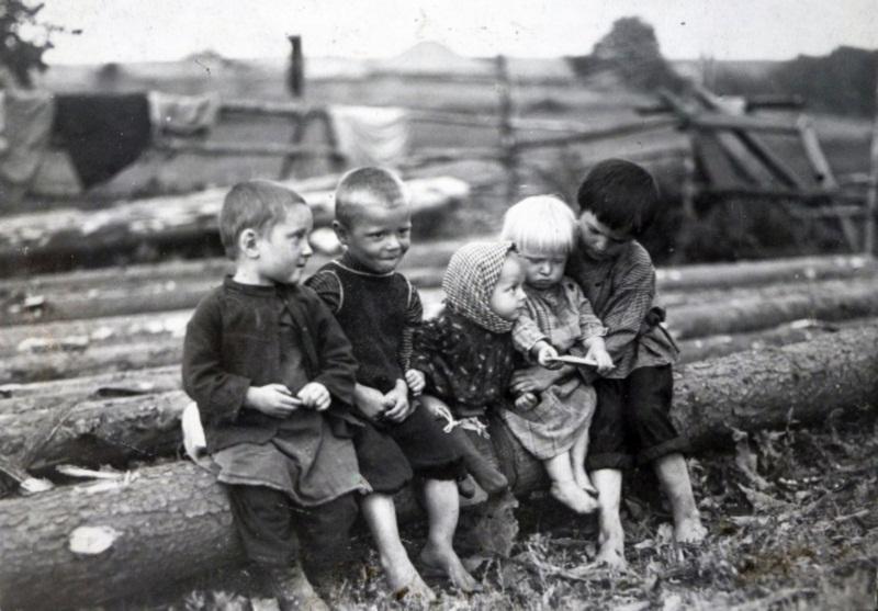 Крестьянские дети, начало 20-го века