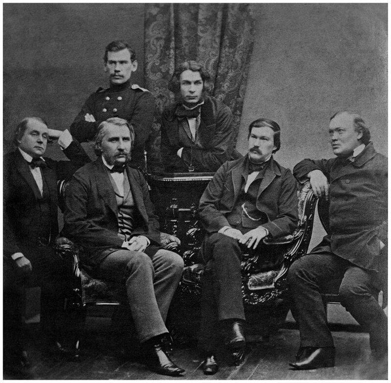 Лев Толстой и писатели журнала «Современник», 1856 год