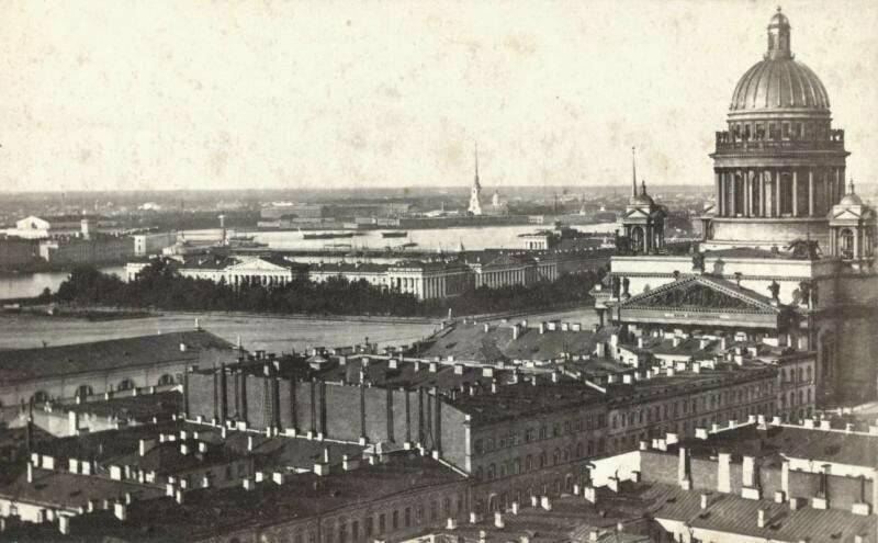 Панорама Петербурга, 1867 — 1869 годы