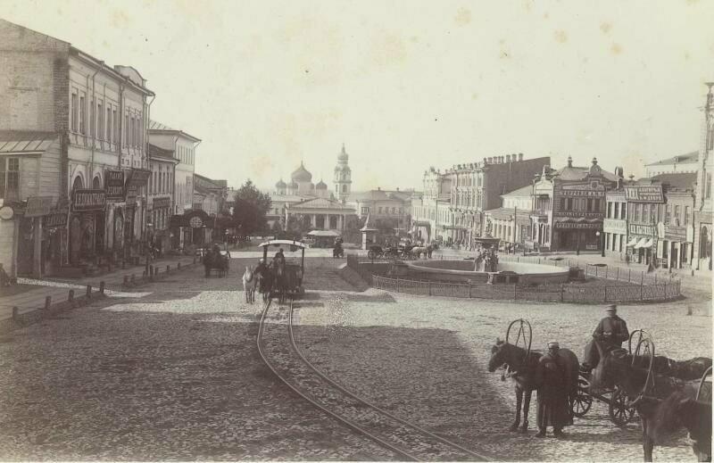 Николаевская площадь, 1881-1889 годы