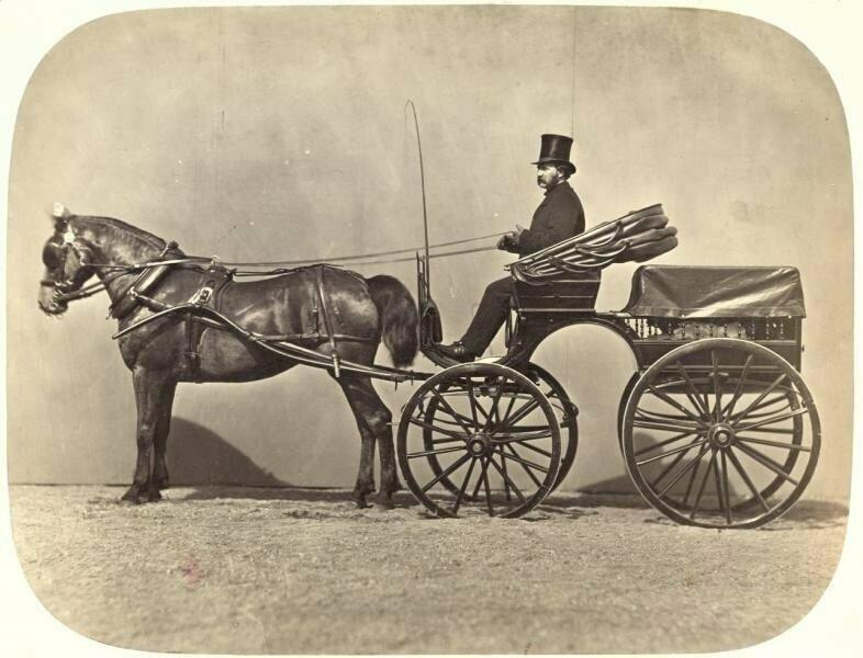 Бричка, 1860-е годы