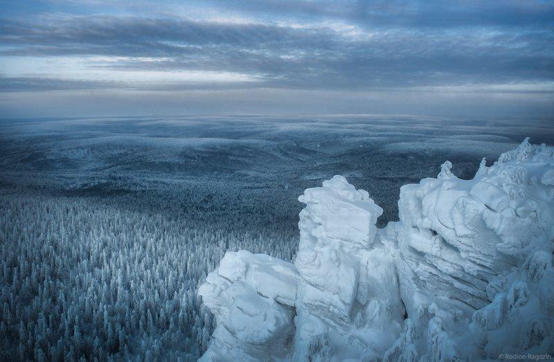 «Бесконечные леса Красновишерска». Автор фото: Родион Рагозин National Geographic, животные, природа, природа россии, фотографии