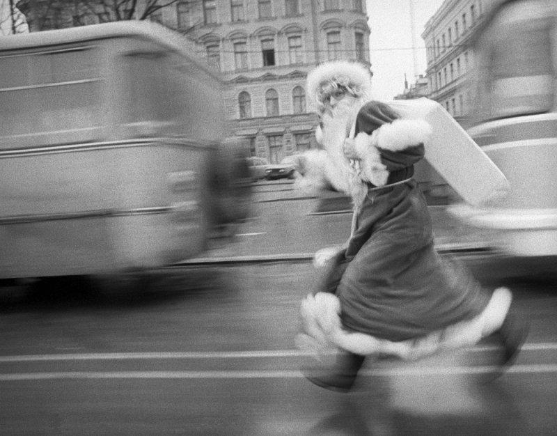 Целеустремленным дед мороз, новый год, ссср, фото