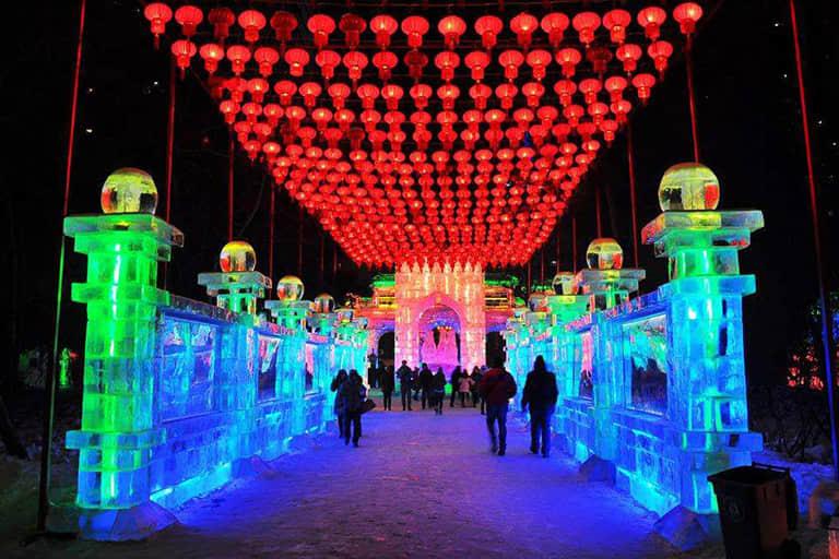 Россияне стали триумфаторами фестиваля ледяных скульптур искусство, китай, конкурс, ледяные скульптуры, фестиваль