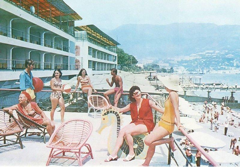 Культовые советские курорты: Ялта курорты СССР, море, отдых, ссср, ялта