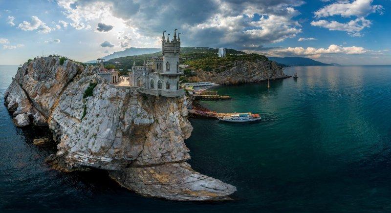 Ласточкино гнездо, Алупка, Ялта курорты СССР, море, отдых, ссср, ялта