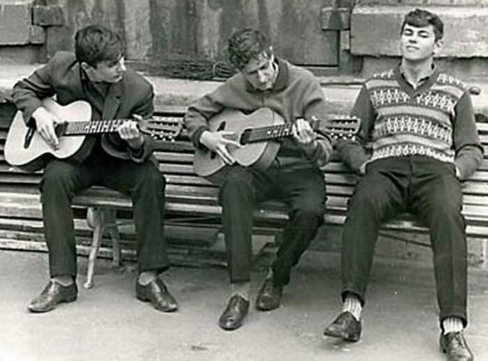 Задушевные разговоры под гитару история, ностальгия, ссср, фотографии