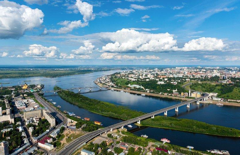Нижний Новгород назван лучшим городом России