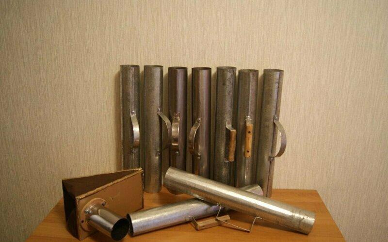 Трубы на угольный самовар