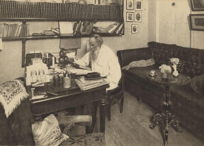 Лев Николаевич Толстой, Ясная Поляна, 1908 год Карл Булла, дореволюционная Россия, история, фотография