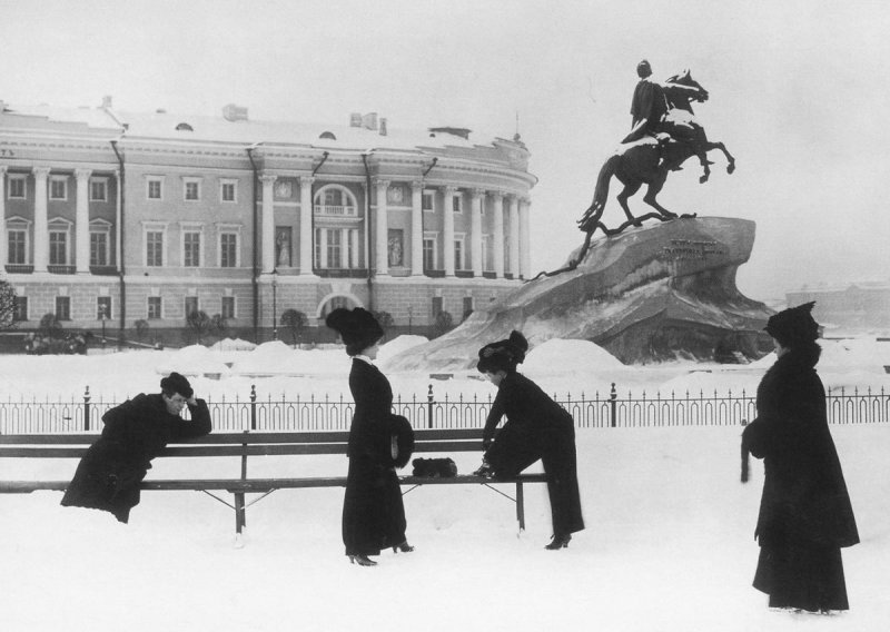 Петербургские модницы, 1900 год Карл Булла, дореволюционная Россия, история, фотография