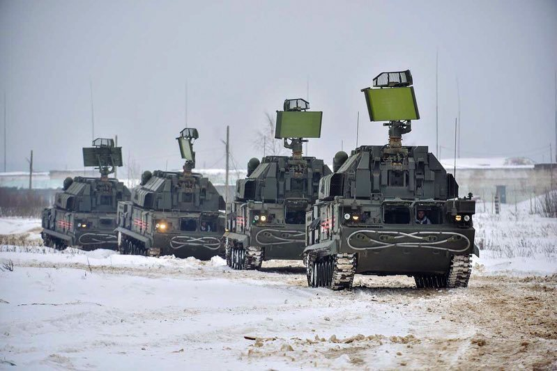 Россия показала новые зенитные ракетные системы Россия, Тор-М2У, зенитная, ракетная, система