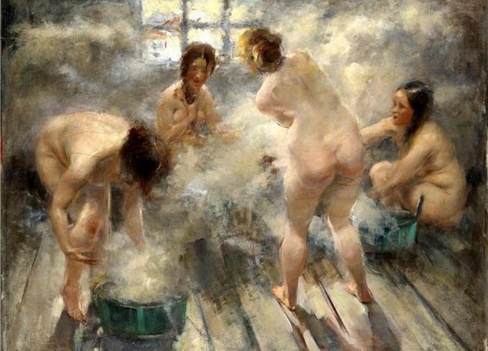 Интересные факты о русской парной баня, парная, поминки, пытки, традиции