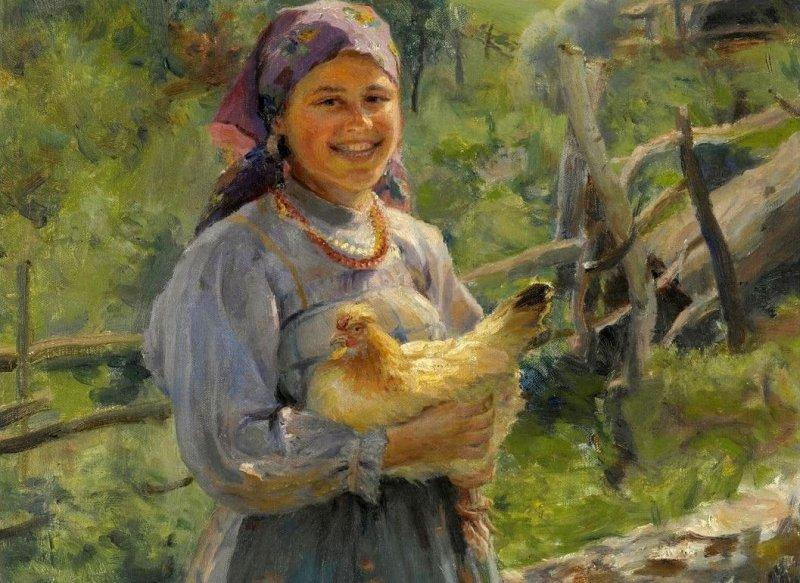 Зачем русские бабы кудахтали? кудахтанье, ритуал, русы, суеверия, традиции