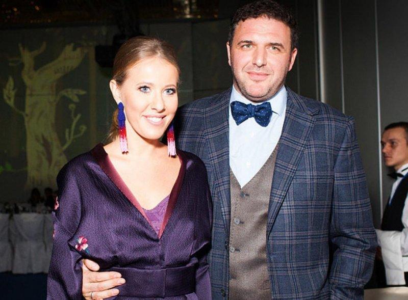 Ксения Собчак с нынешним супругом