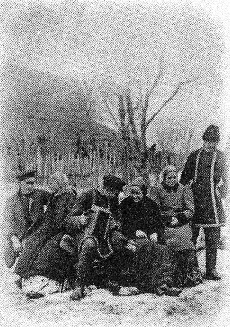 Фотографии из повседневной жизни русских крестьян