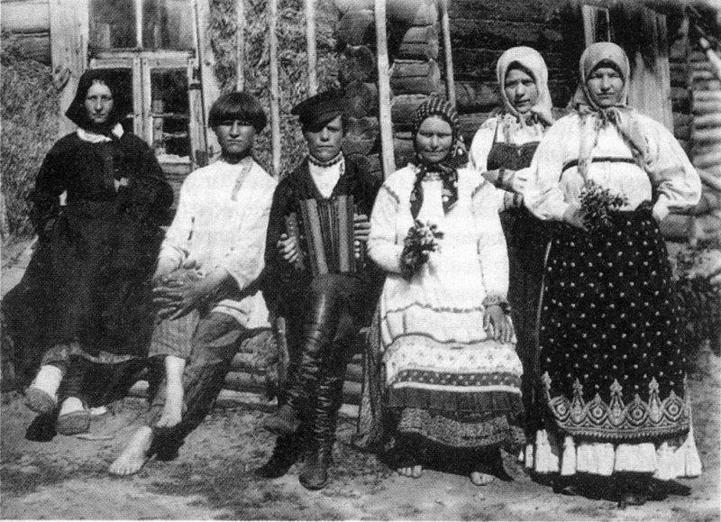 Деревенская молодежь, начало XX века