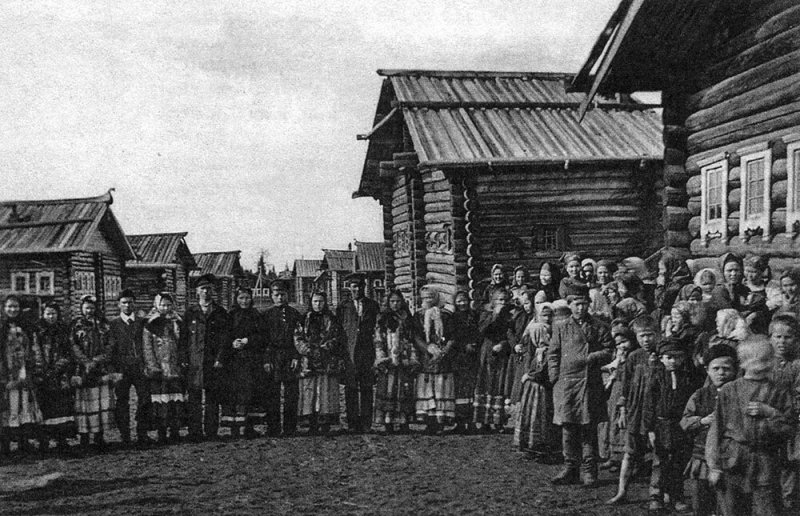 Деревенские гулянья, начало прошлого века