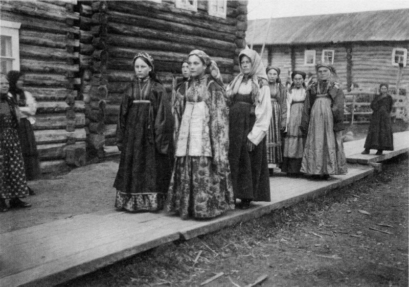 Гулянье, Русский Север, начало XX века