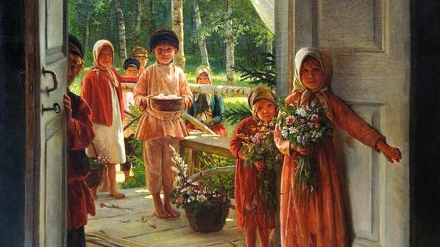 Подарок маме от русских классиков