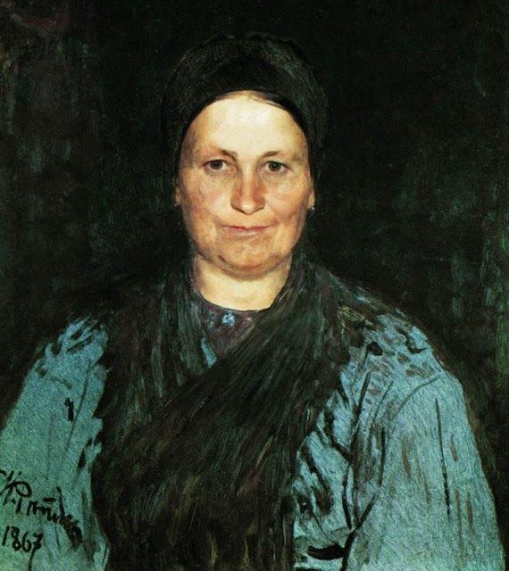 Илья Репин и портрет