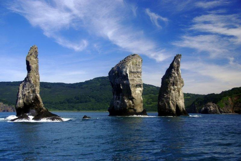 Природные чудеса России: Авачинская бухта Авачинская бухта, Авачинская губа, камчатка, порт, природа россии