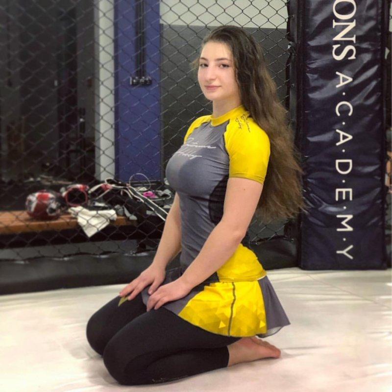 Лиана дала свое согласие уже на четыре поединка UFC, Ахмат, Лиана Джоджуа, бои без правил, женщины