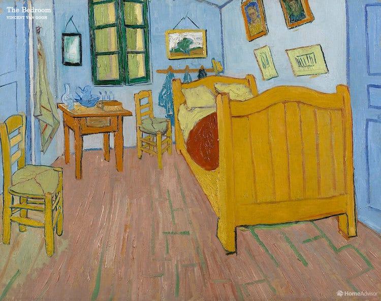 """""""Спальня в Арле"""", Винсент ван Гог"""