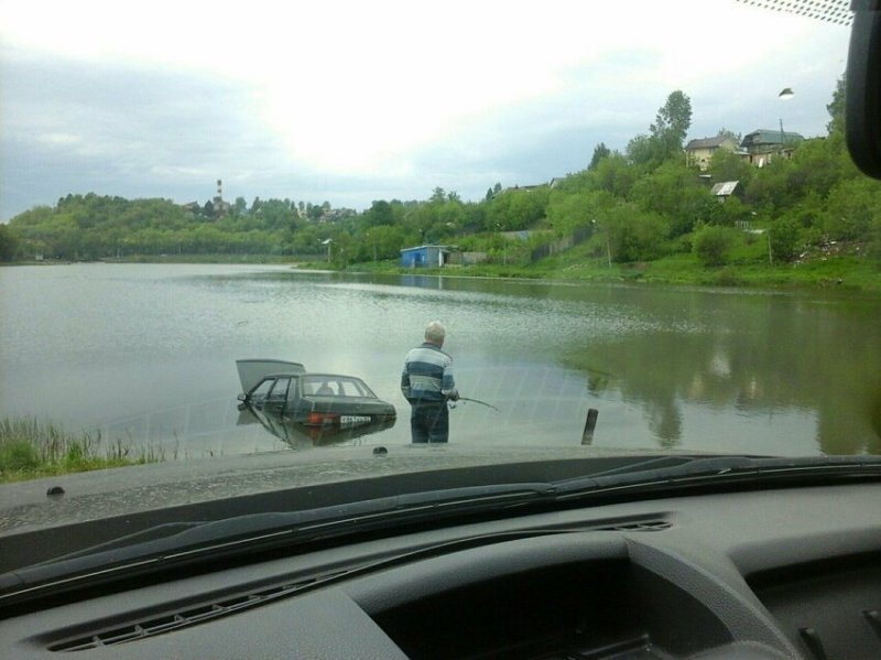 Удачная рыбалка?