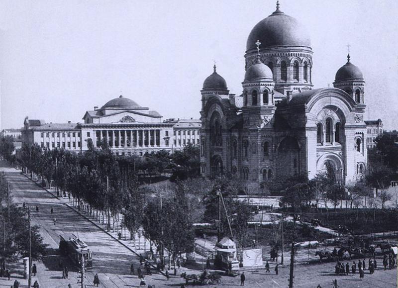 Александро-Невский кафедральный собор, разрушен в 30-х годах прошлого века