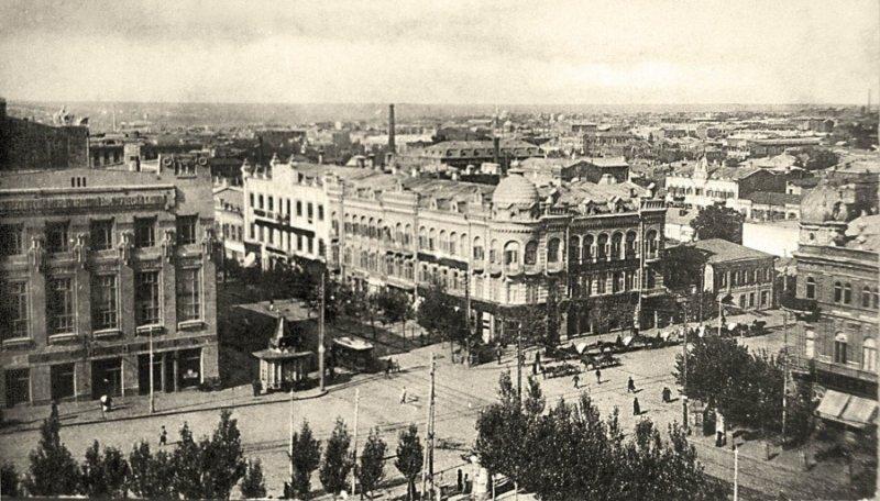 Общий вид города Ростов-на-Дону