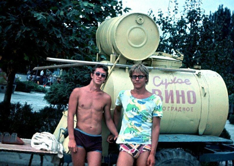После практики: впечатления студентов СССР о летнем отдыхе Крым, новый свет, отдых, ссср, студенты, судак