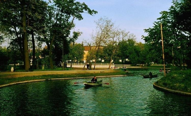 Москва, СССР, 1956 год. Парк