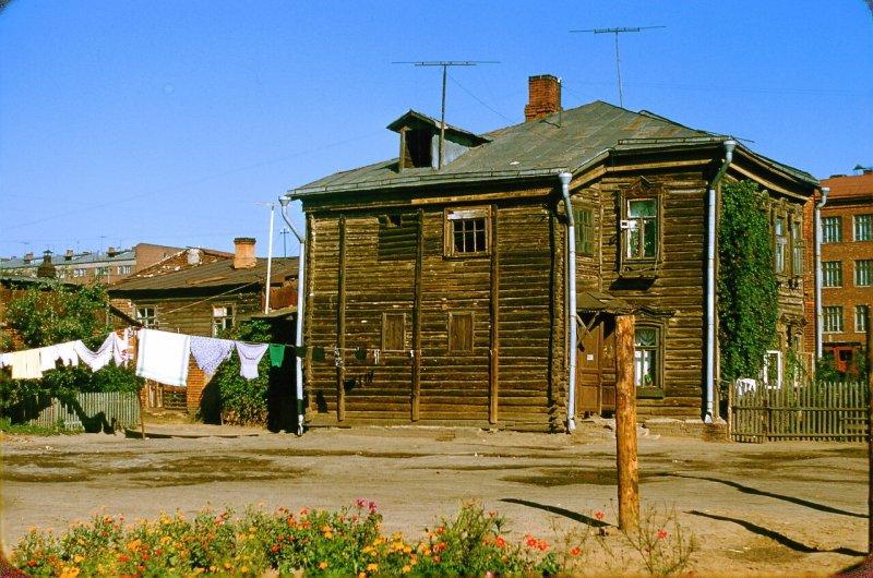 Москва, СССР, 1956 год. Дом в пригороде Москвы