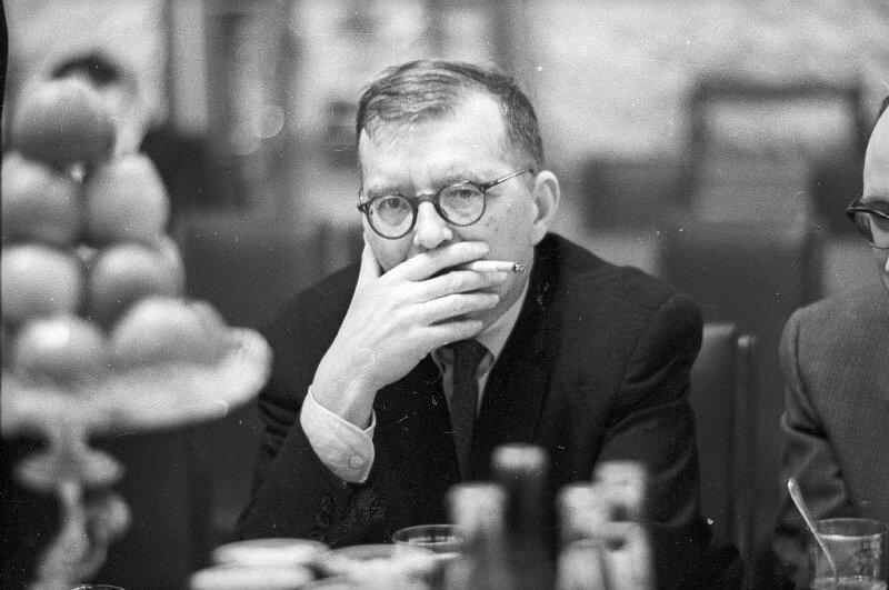 Композитор Дмитрий Шостакович, 1970-е Стешанов, люди, снимки, ссср, фото, фотограф