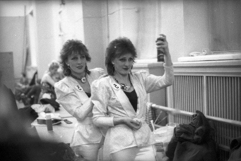 Конкурс парикмахеров, Минск, 1970-е годы Стешанов, люди, снимки, ссср, фото, фотограф