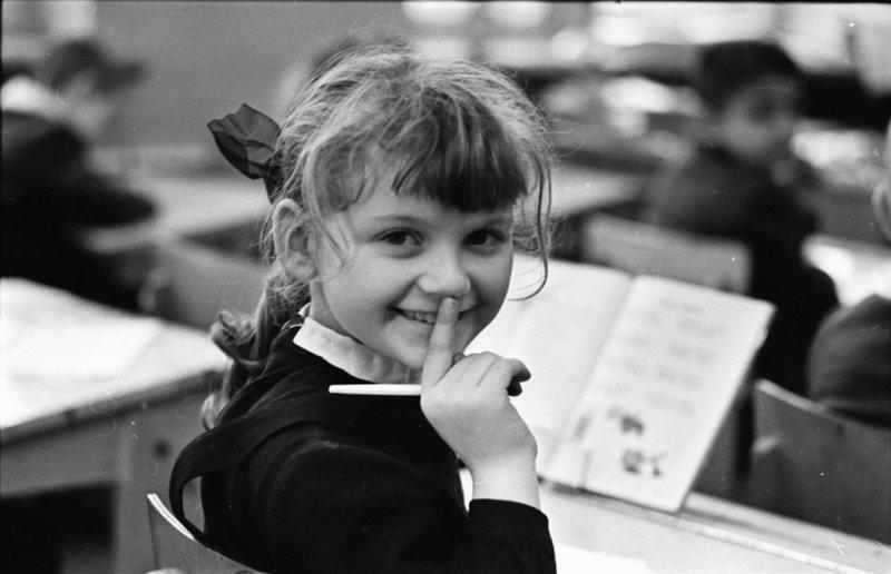 Одноклассница, 1950-е Стешанов, люди, снимки, ссср, фото, фотограф