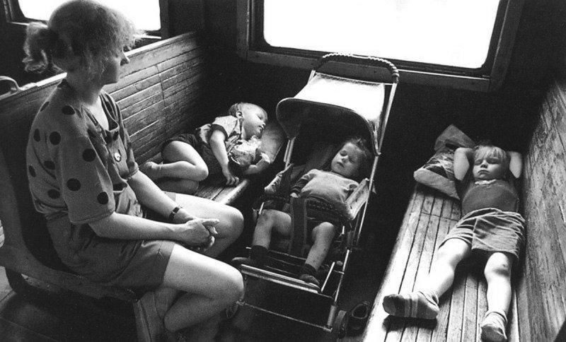 Поездка к бабушки жизнь, история, люди, ссср, фото